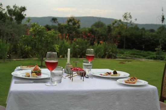 Tree of Life Resort & Spa Jaipur : In Villa Dining