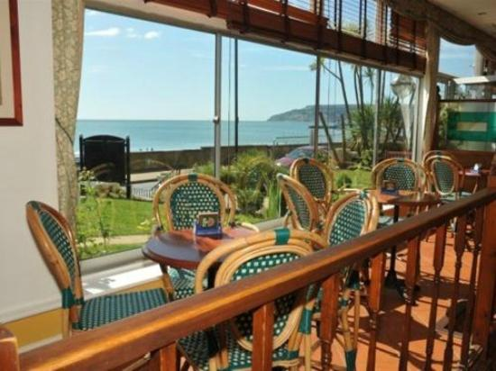 Tarvic 2 Hotel: Looking out to sea towards Shanklin