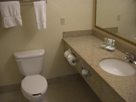 Country Inn & Suites By Radisson, Denver International Airport: Bathroom
