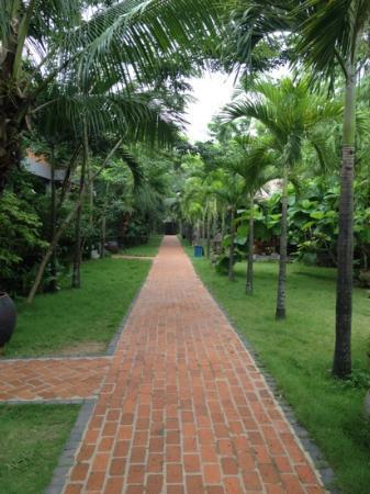 Pilgrimage Village: pour se rendre aux chambres....