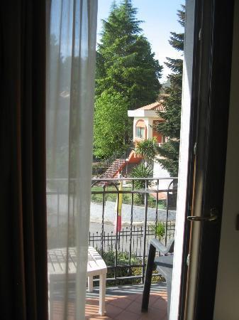 Villa Hirschen: Sbirciando dalla finestra