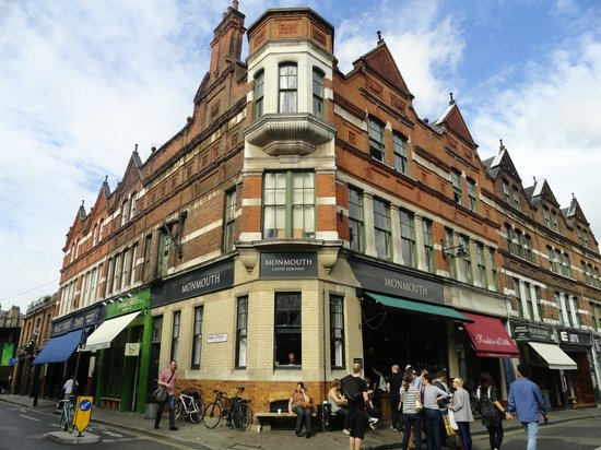 Monmouth coffee the borough londres southwark for Appart hotel pas cher londres