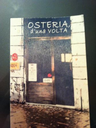 Osteria d 39 una volta piacenza ristorante recensioni for Cassettone d una volta