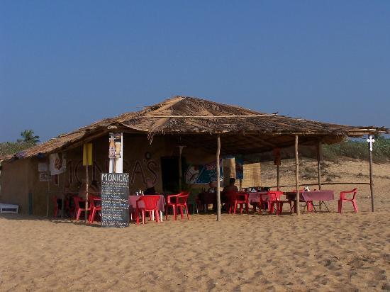 Monico's Beach Shack: Monica's Shack, the best in Goa!