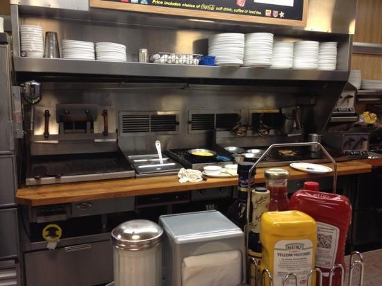 Waffle House: early morning breakfast.