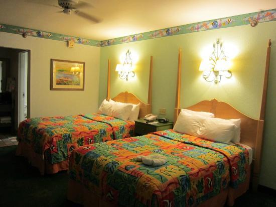 Disney's Caribbean Beach Resort: Deluxe room