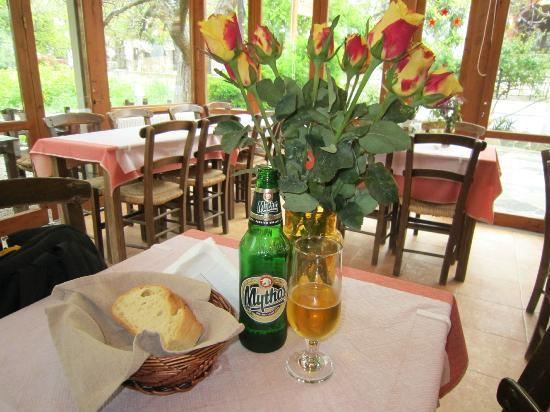 Taverna Kares: The Local Beer