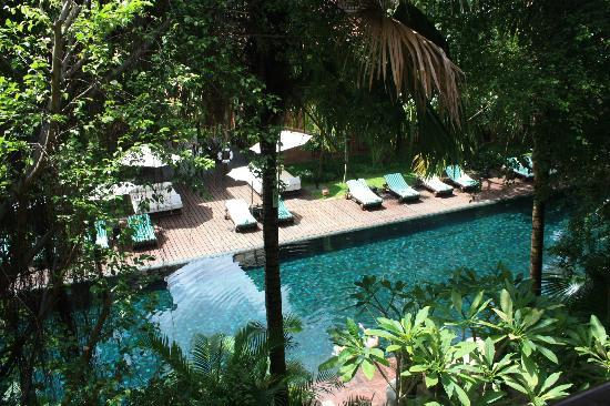 Belmond La Residence d'Angkor: View from room of pool