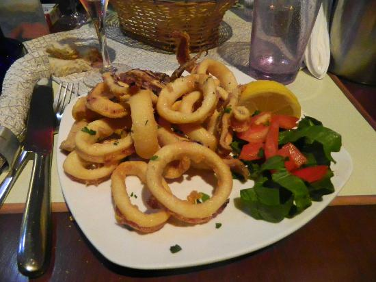 Fato a Mano: calamars fries