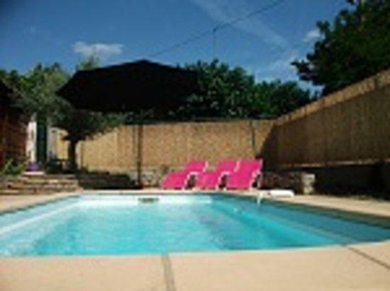 Maison des Palmiers : The Pool