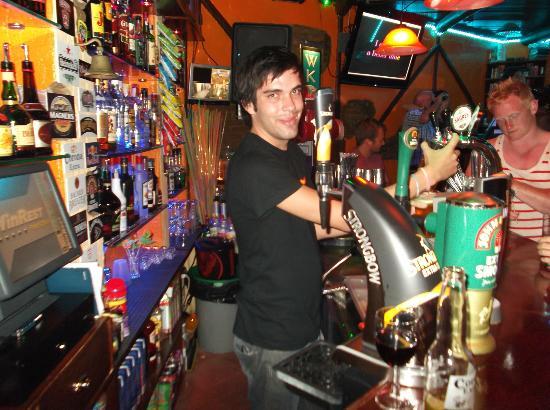 Montechoro Strip: Top Barman, Arthur