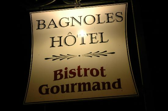 Bagnoles Hotel: The excellent hotel and restaurant