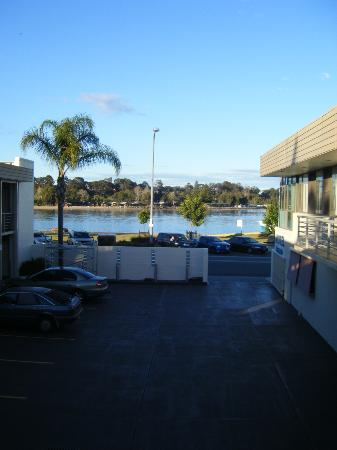 Clyde River Motor Inn: View from top floor room