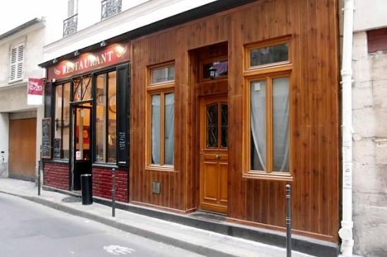 L'Ange 20 Restaurant : L'Ange 20 Facade