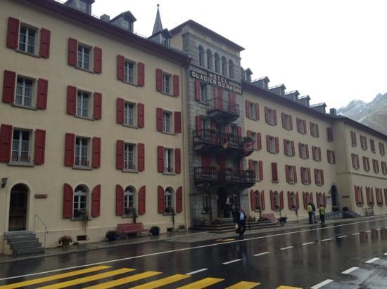 Hotel Glacier du Rhone: Glacier du Rhône