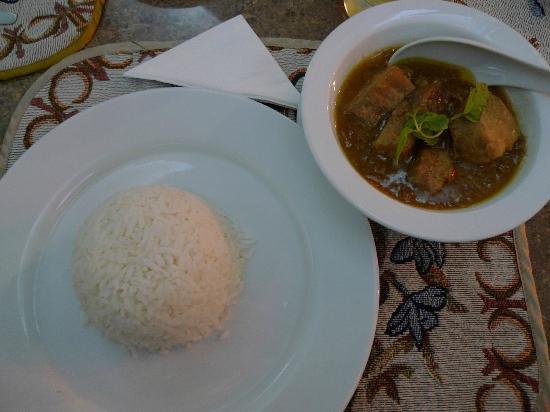 Mandalay City Hotel: Myanmar Curry