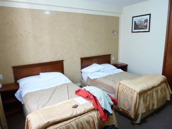 Hotel Maison du Soleil: the room