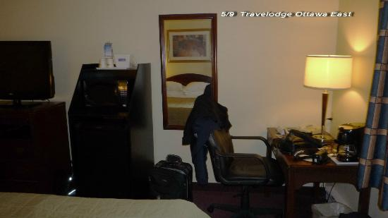 Travelodge Ottawa East : Chambre 113