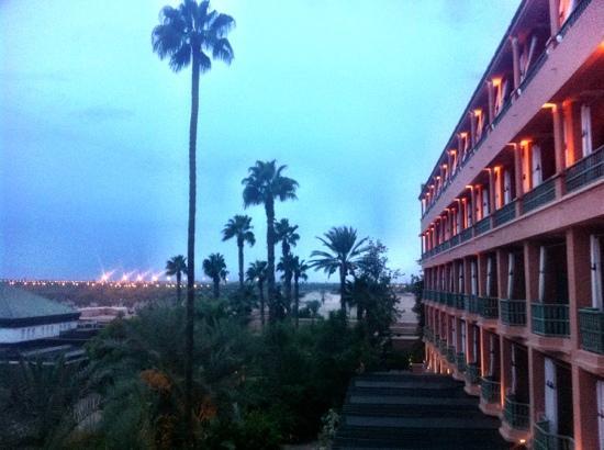 La Mamounia Marrakech: hotel wing