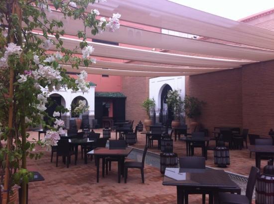 La Mamounia Marrakech: moroccan restaurant onsite