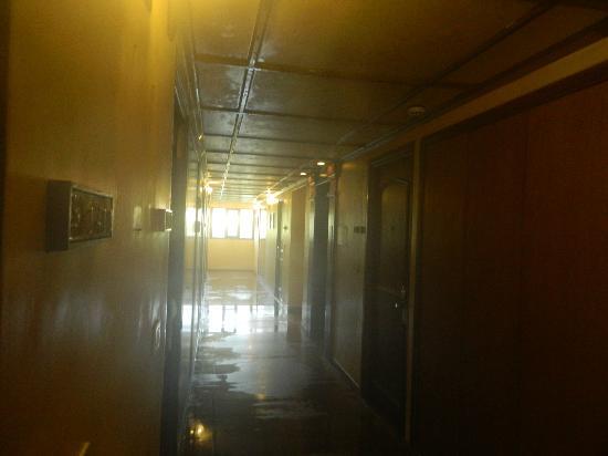 โรงแรมฟอร์จูน ซีเล็กซ์ เรจิน่า: lobby outside our room at the hotel