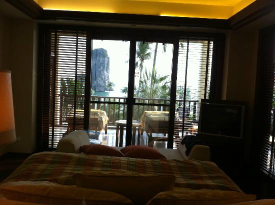 Centara Grand Beach Resort & Villas Krabi : View from bed