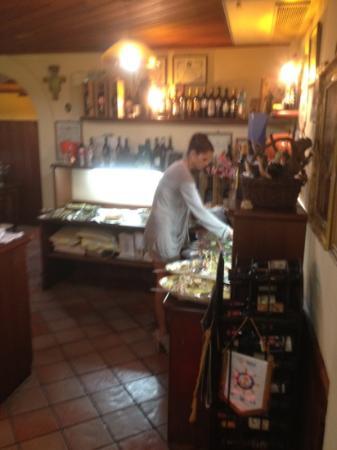 Trattoria Garibaldi: Antipasta Buffet