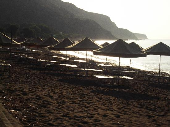 Hylatio Tourist Village: beach in the morning