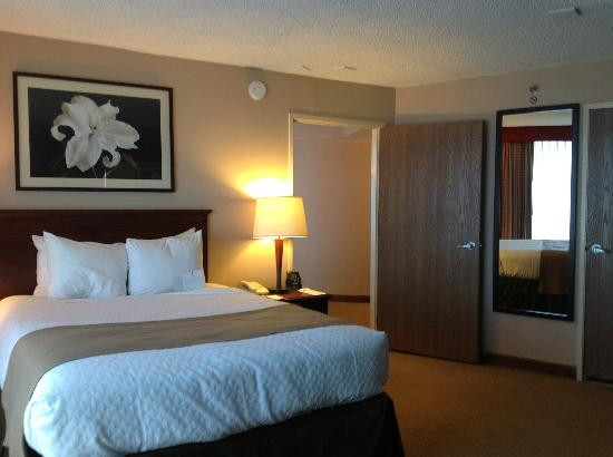 Embassy Suites by Hilton San Francisco Airport - South San Francisco: Bedroom