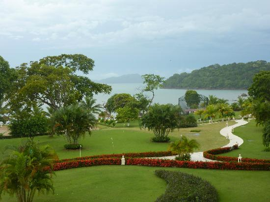 Secrets Playa Bonita Panama Resort & Spa: Resort so green and lush