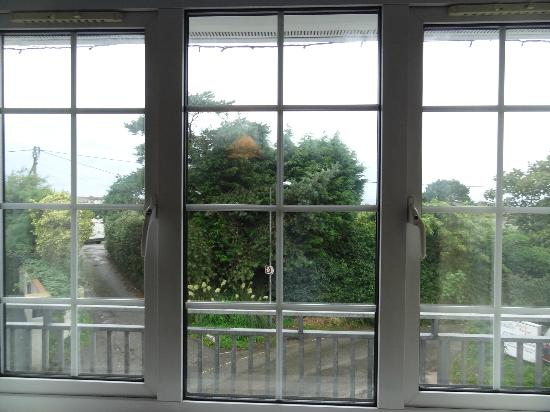 Porth Lodge Hotel: The view from window