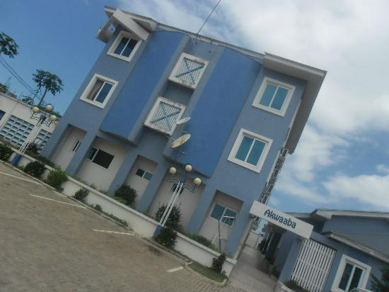 This is the front view of De Holiday Beach hotel