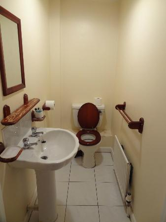 Porth Lodge Hotel : Washroom