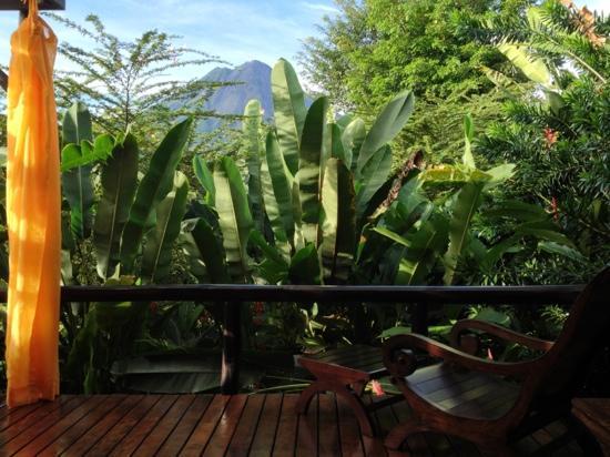 Nayara Resort Spa & Gardens: un balcón con vista... ¡y vaya vista!