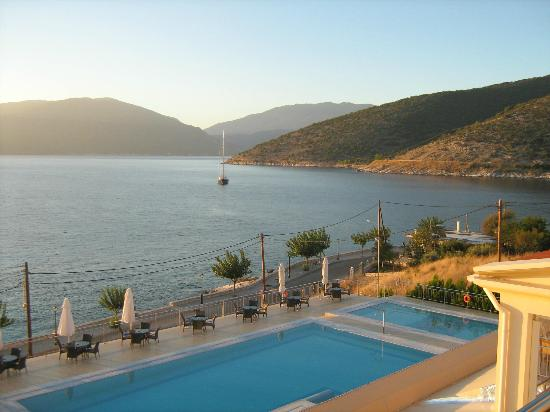 Odyssey Hotel Kefalonia: View from Room 201