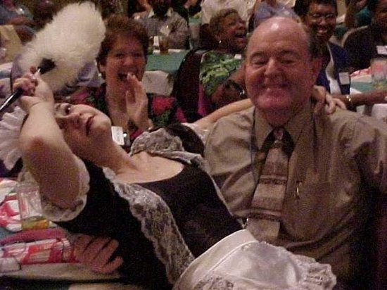 The Black Fedora Comedy Mystery Theatre: Fufu the French Maid faints on unsuspecting guest