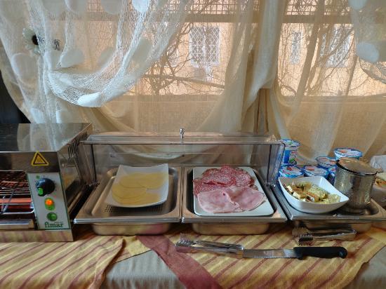 Relais San Pietro: Pequeno Almoço