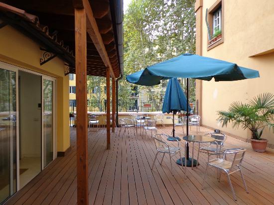 Relais San Pietro: Roof Garden- Terraço