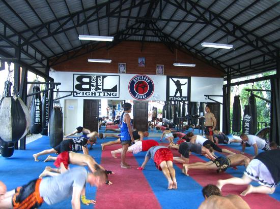 Superpro Samui: buitentraining