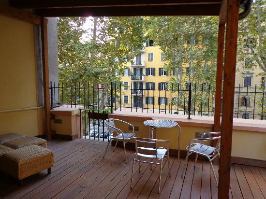 Relais San Pietro: Roof Garden - Terraço