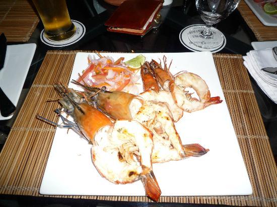 Brunton Boatyard: 海鮮料理のディナー