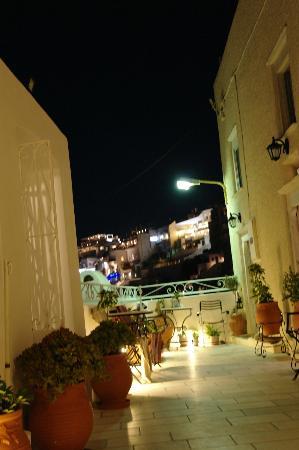 聖托里尼阿宏提科公寓飯店照片