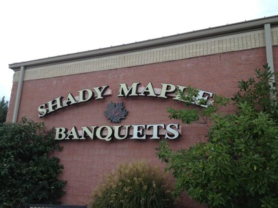 Shady Maple Smorgasbord: sign
