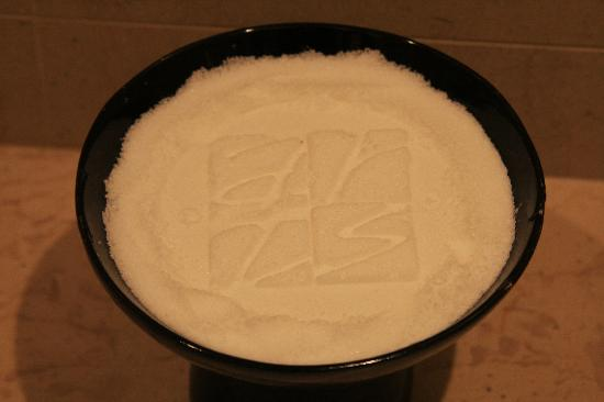 Hotel Arts Barcelona: Bathroom Salts