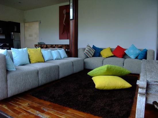 Pandawa Beach Villas & Spa: living room