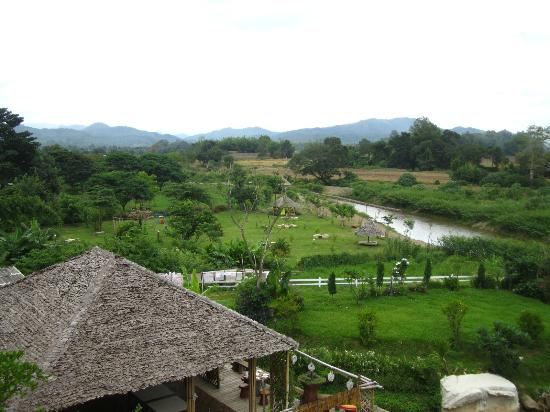 Pai River Curve Resort: view from my room