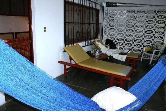 Catalina Beach Resort: Balcony to Regular Casita Room