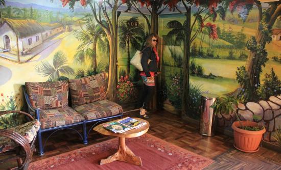 Hostal Estrella Andina: Palier du quatrième étage