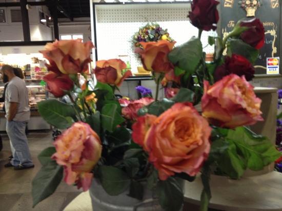 Lancaster Central Market: flowers