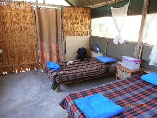 Amangwane - Kosi Bay: Tent